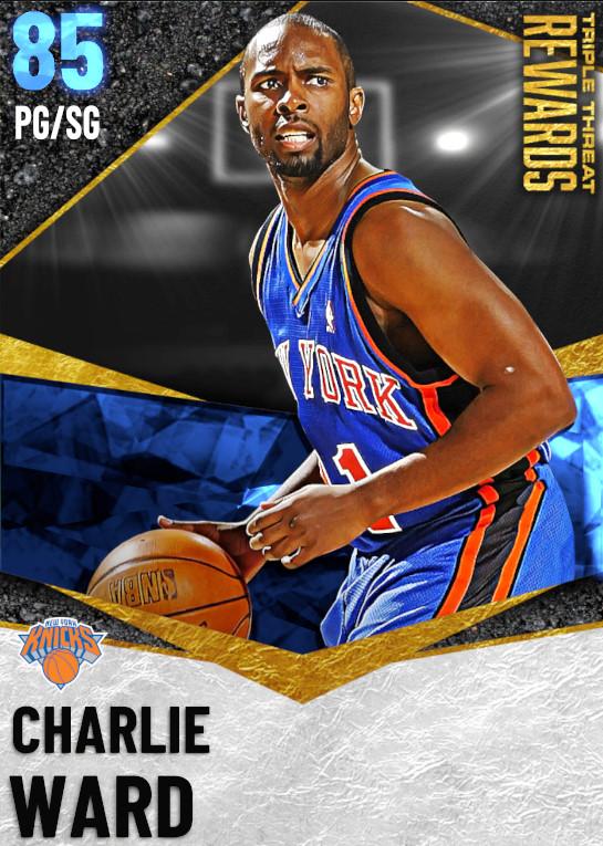 85 Charlie Ward   undefined