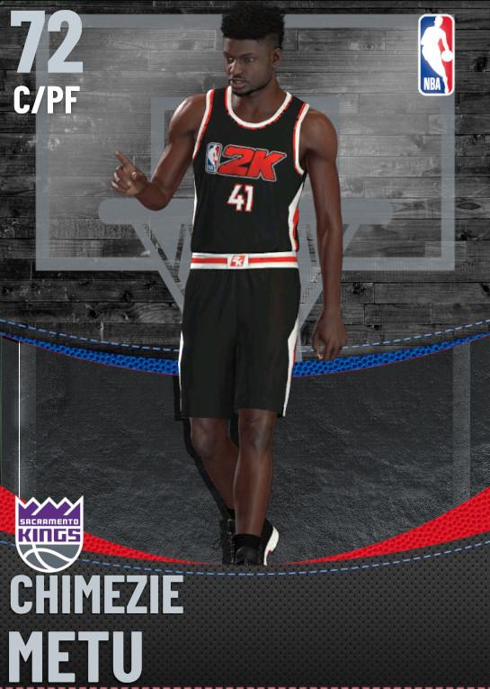 72 Chimezie Metu | Sacramento Kings