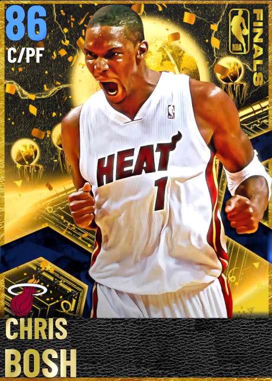 86 Chris Bosh | Finals