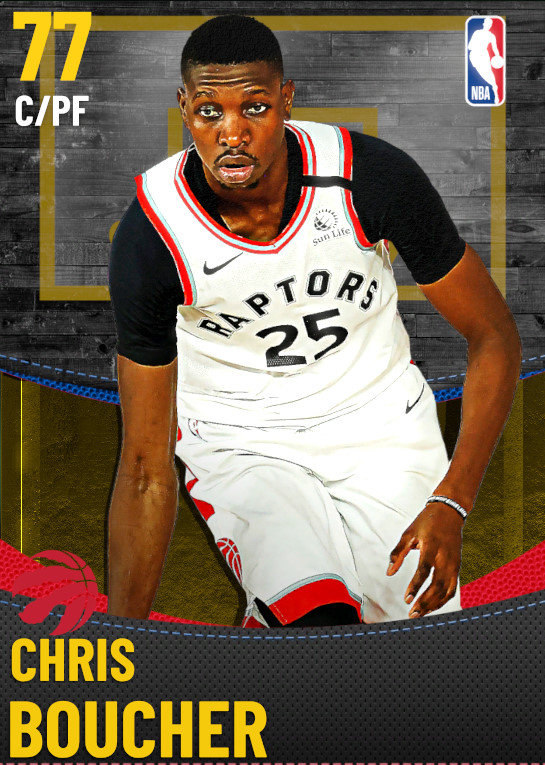 77 Chris Boucher | Toronto Raptors