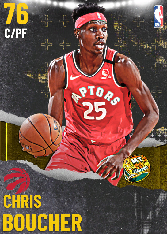 76 Chris Boucher | undefined