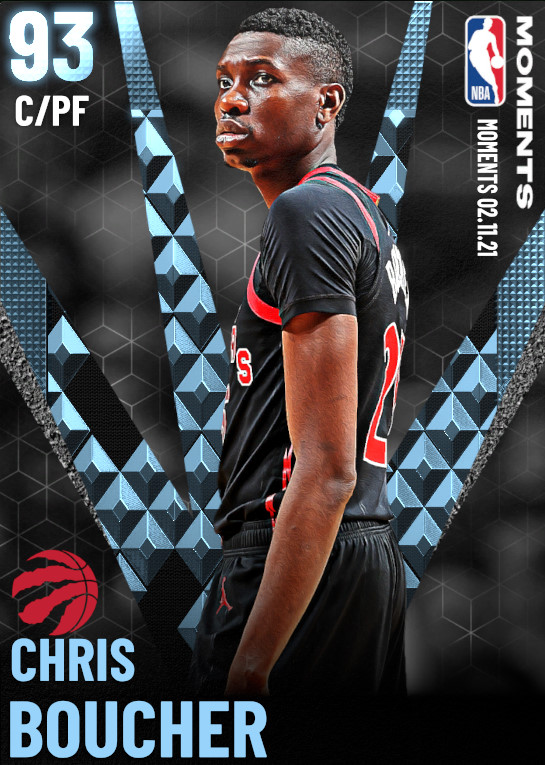 93 Chris Boucher | Toronto Raptors