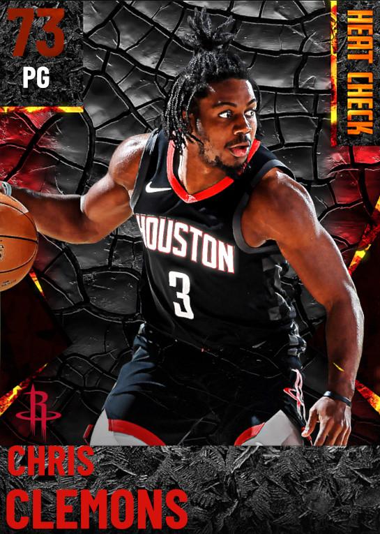 73 Chris Clemons | Houston Rockets
