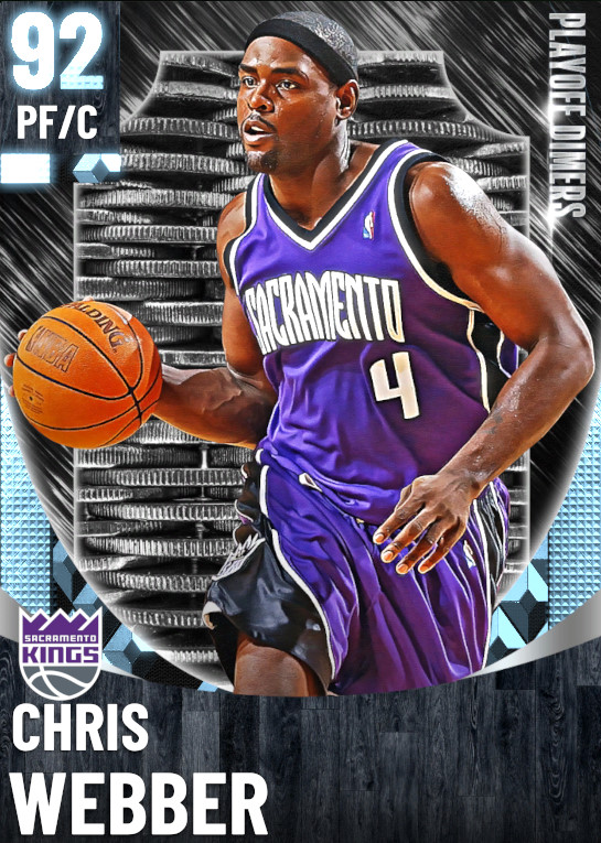 92 Chris Webber | One Will Rise Playoff Dimers