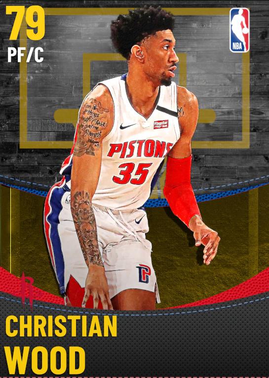79 Christian Wood | Houston Rockets