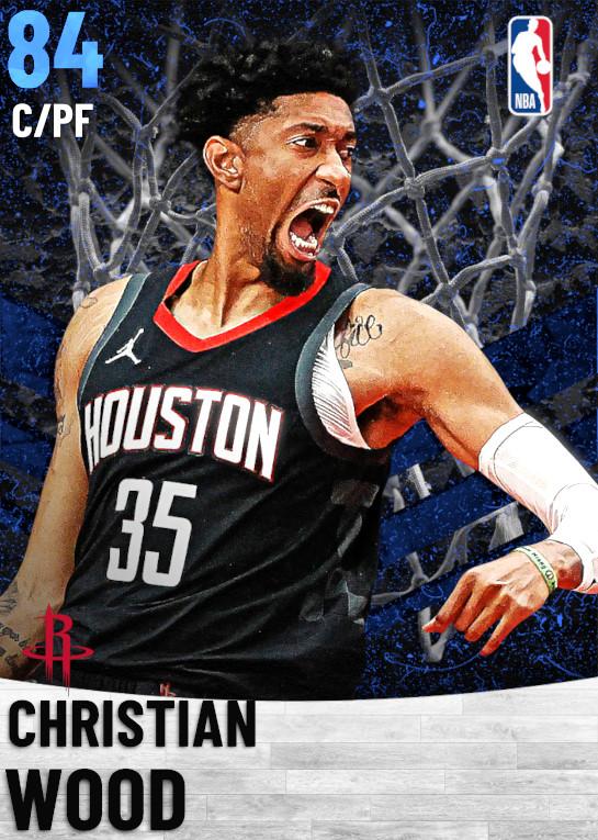 84 Christian Wood   Houston Rockets