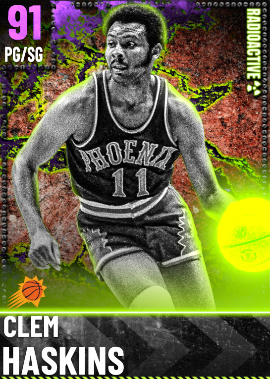 91 Clem Haskins | Radioactive