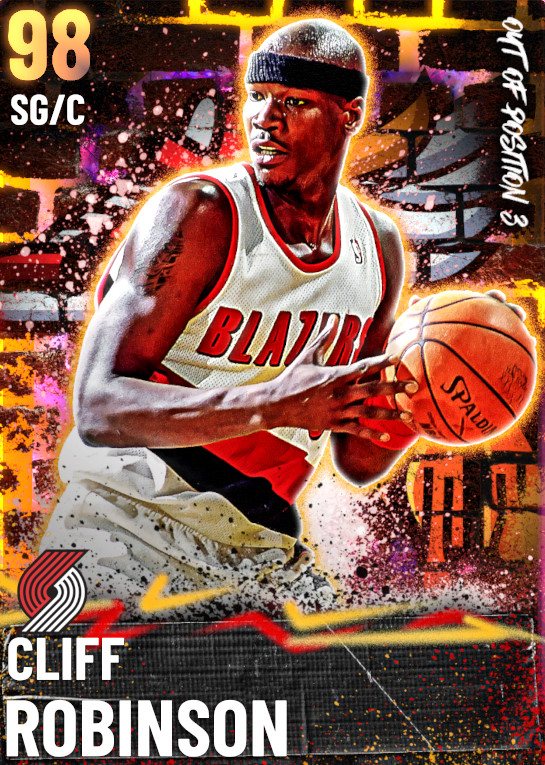 98 Cliff Robinson | Out of Position 3