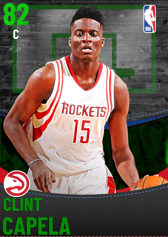 82 Clint Capela | undefined