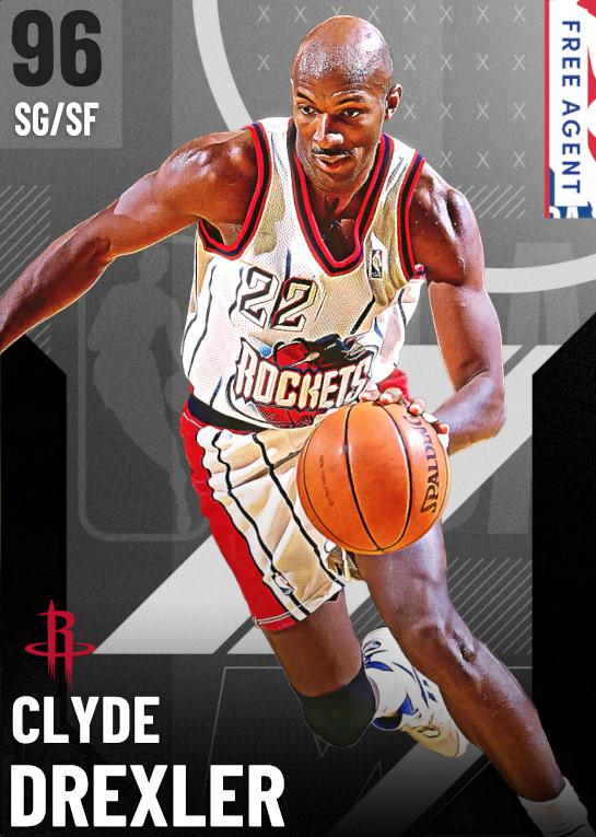 96 Clyde Drexler   undefined
