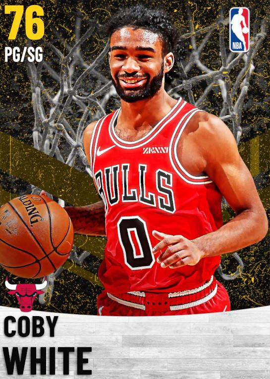 76 Coby White   Chicago Bulls