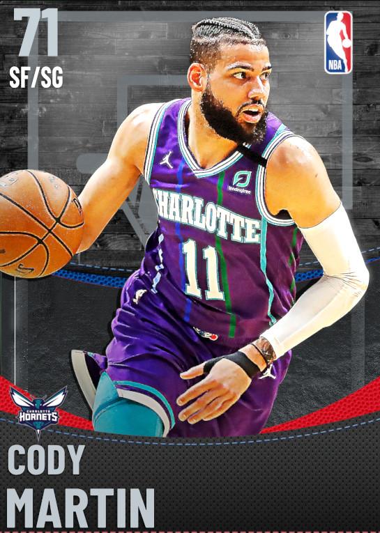 71 Cody Martin | Charlotte Hornets