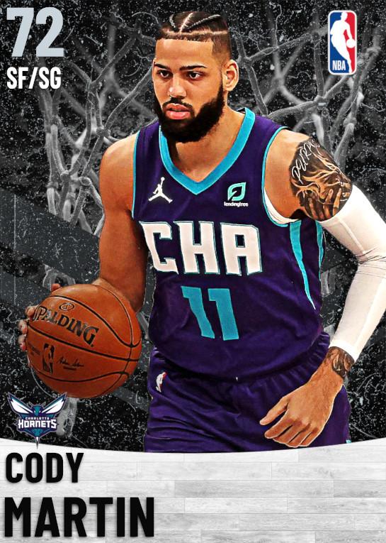 72 Cody Martin   Charlotte Hornets