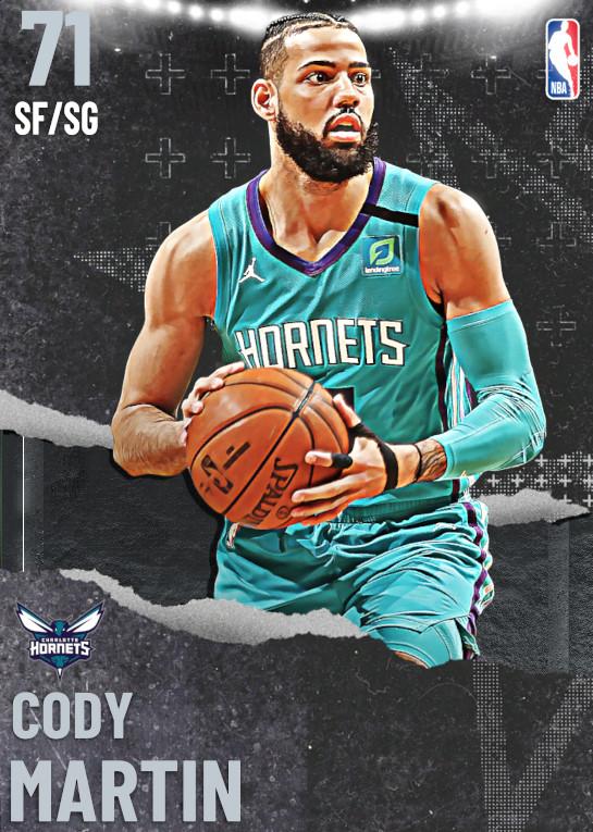 71 Cody Martin | undefined