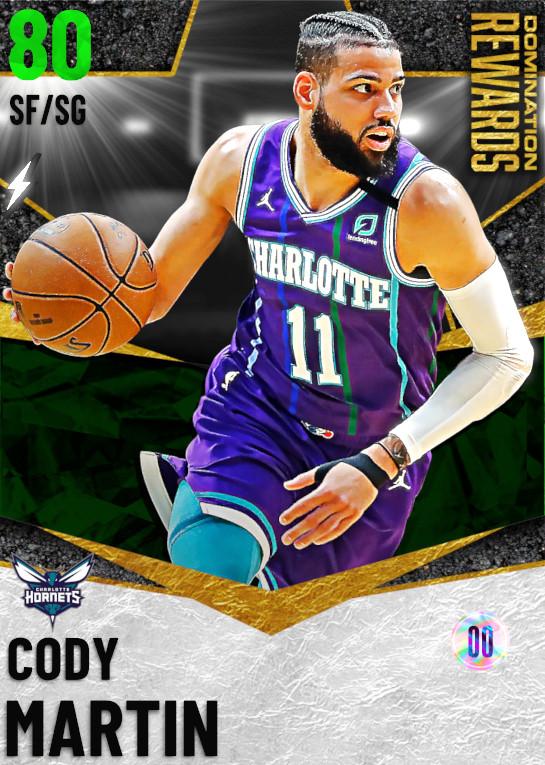 80 Cody Martin   Domination Rewards