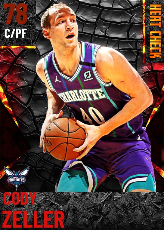 78 Cody Zeller | Charlotte Hornets