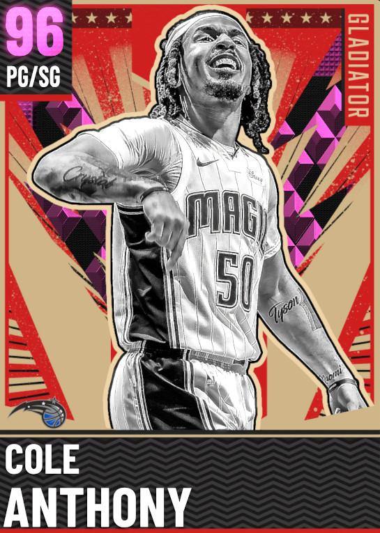 96 Cole Anthony   Gladiator