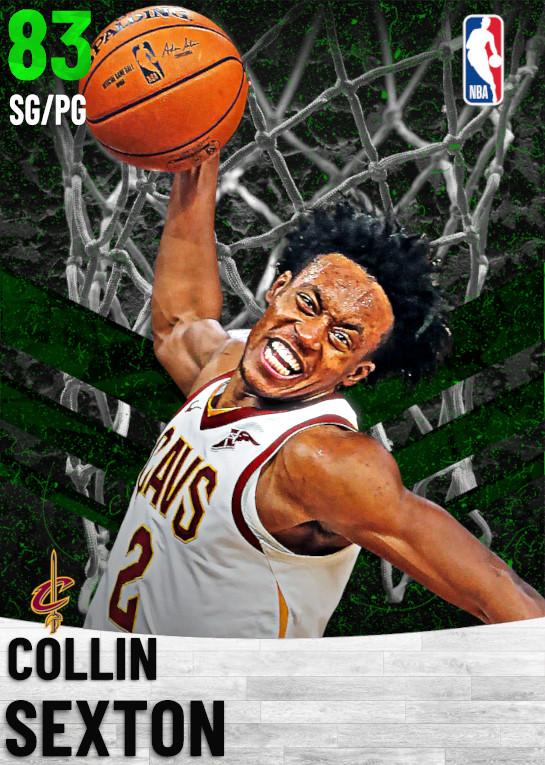83 Collin Sexton   Cleveland Cavaliers