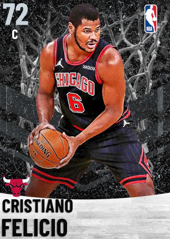 72 Cristiano Felicio   Chicago Bulls