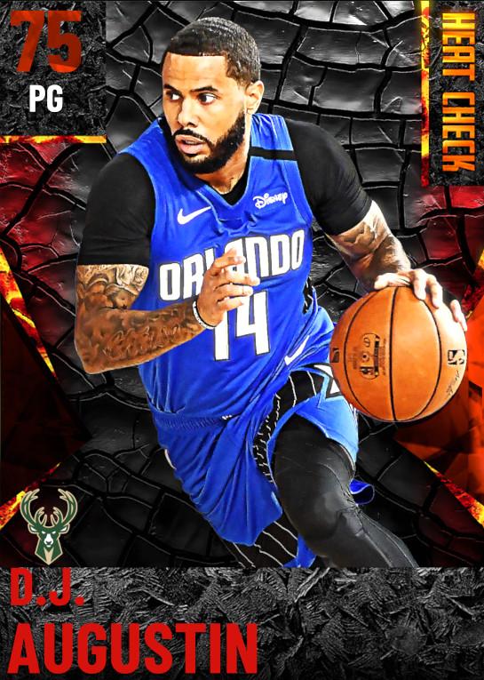 75 D.J. Augustin | Milwaukee Bucks