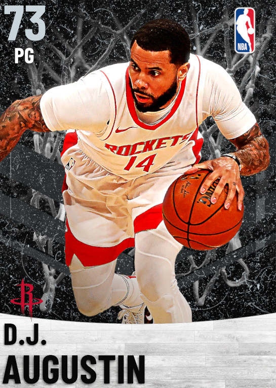 73 D.J. Augustin   Houston Rockets