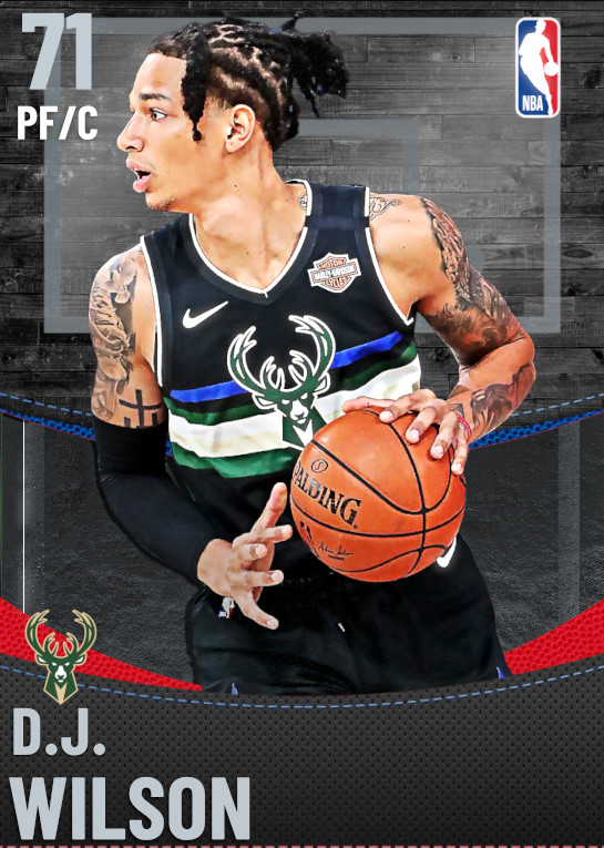 71 D.J. Wilson | Milwaukee Bucks