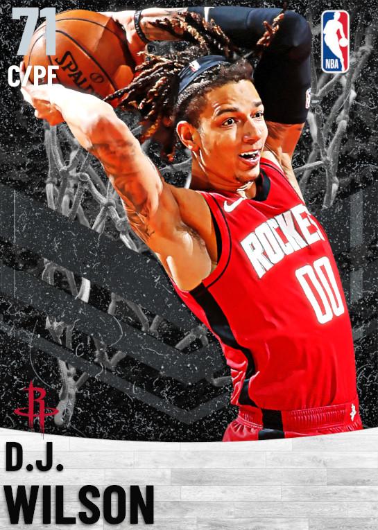 71 D.J. Wilson   Houston Rockets