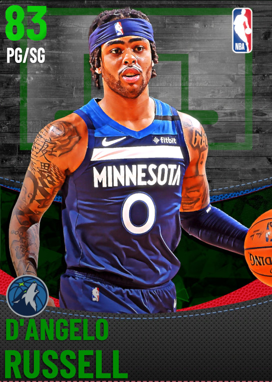 83 D'Angelo Russell | undefined