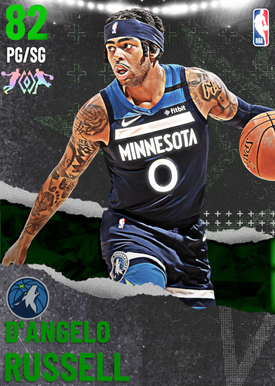 82 D'Angelo Russell | undefined