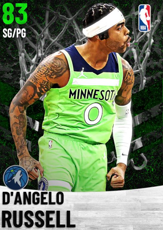 83 D'Angelo Russell   Minnesota Timberwolves
