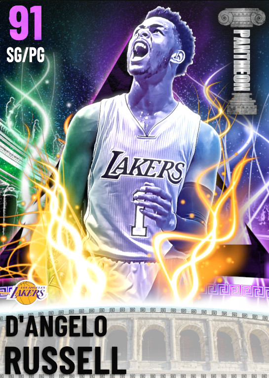 91 D'Angelo Russell | Pantheon