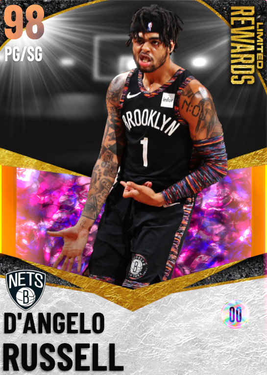 98 D'Angelo Russell | undefined