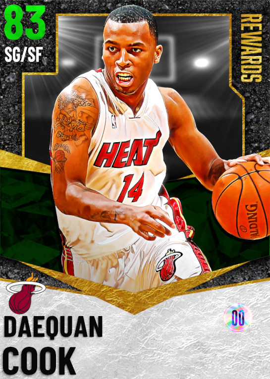83 Daequan Cook | Season 5 Rewards