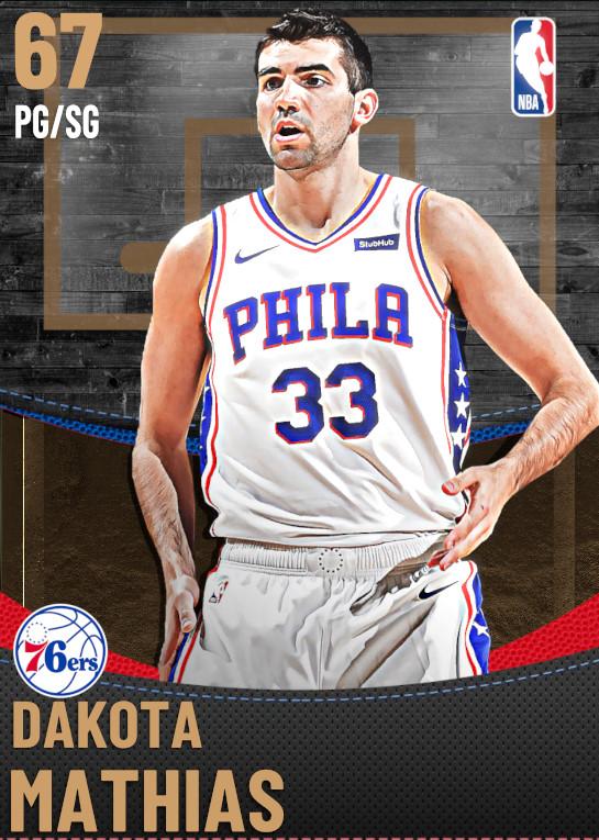67 Dakota Mathias | Philadelphia 76ers