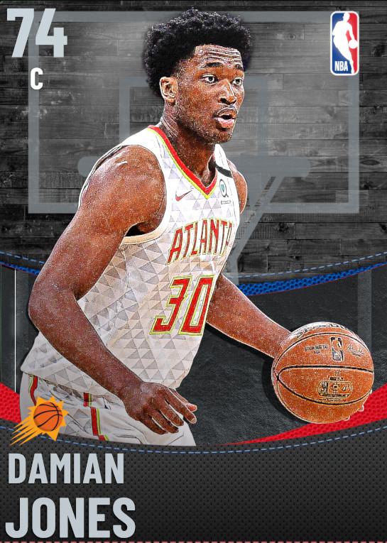 74 Damian Jones | undefined