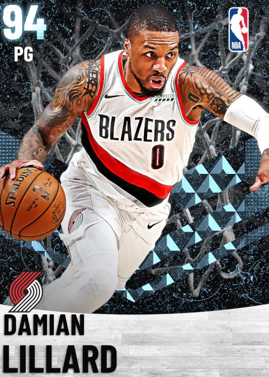 94 Damian Lillard   Portland Trail Blazers