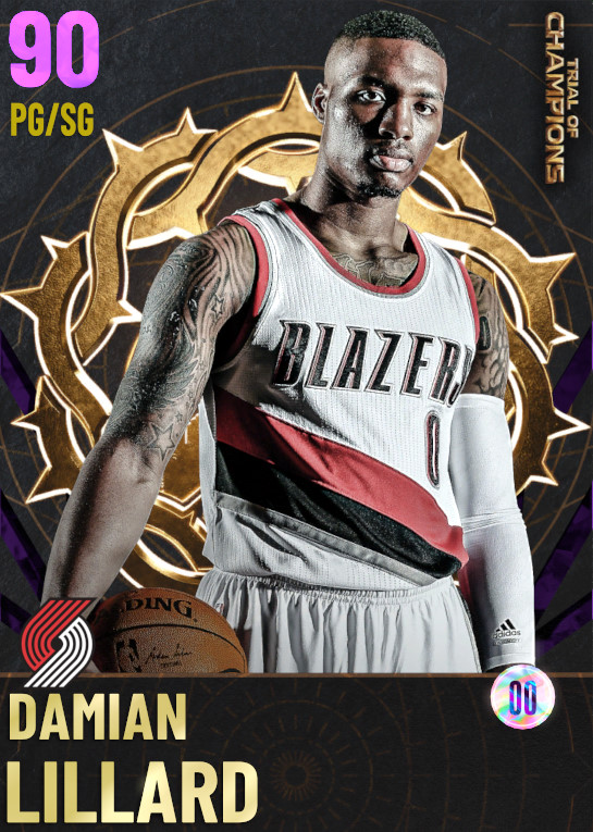 90 Damian Lillard | undefined