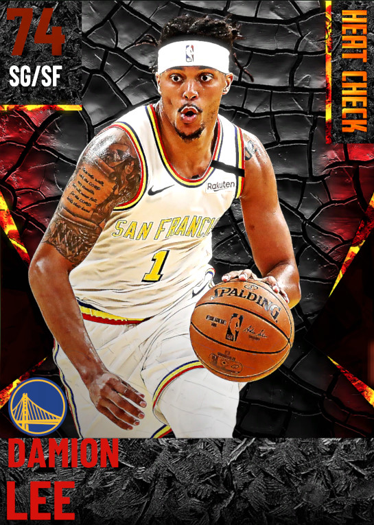 74 Damion Lee | Golden State Warriors
