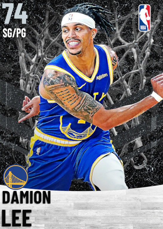74 Damion Lee   Golden State Warriors