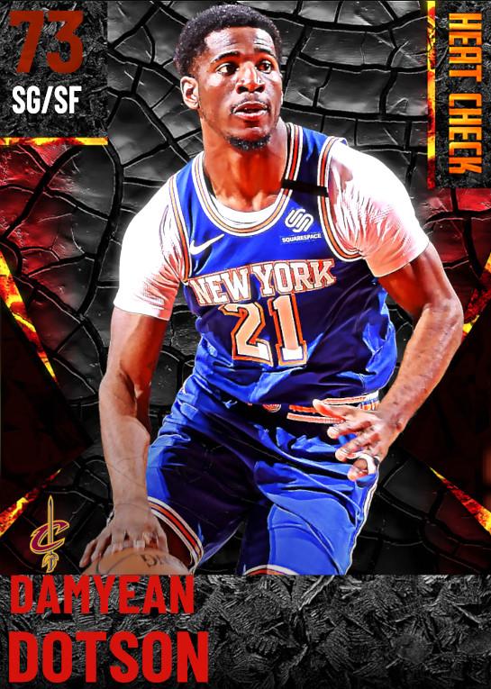 73 Damyean Dotson | Cleveland Cavaliers