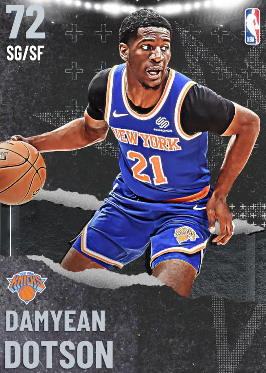 72 Damyean Dotson | undefined