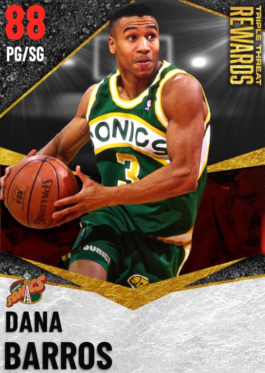 88 Dana Barros   undefined