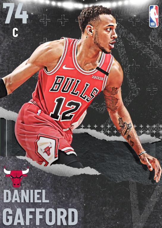 74 Daniel Gafford   undefined