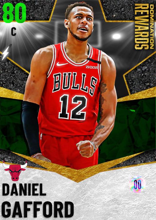 80 Daniel Gafford   Domination Rewards