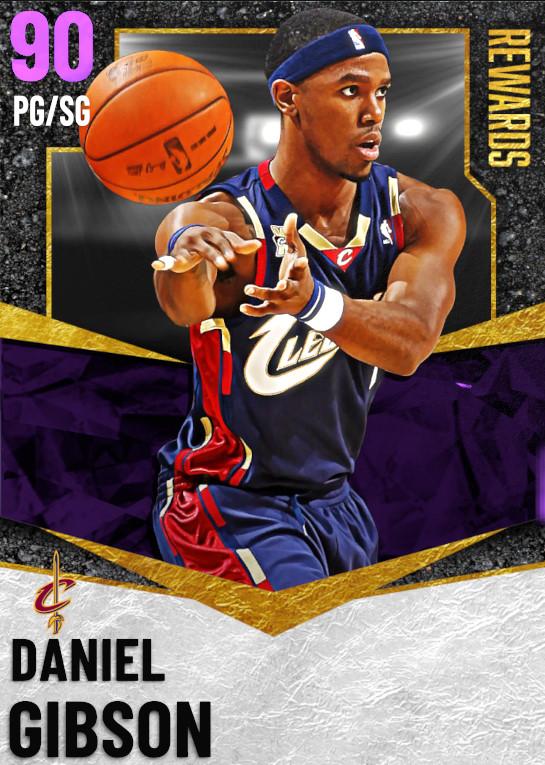 90 Daniel Gibson | undefined