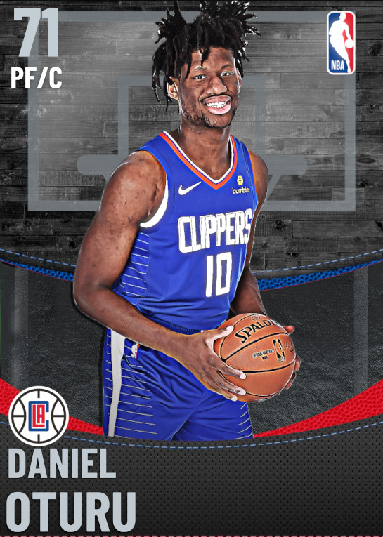 71 Daniel Oturu | Los Angeles Clippers