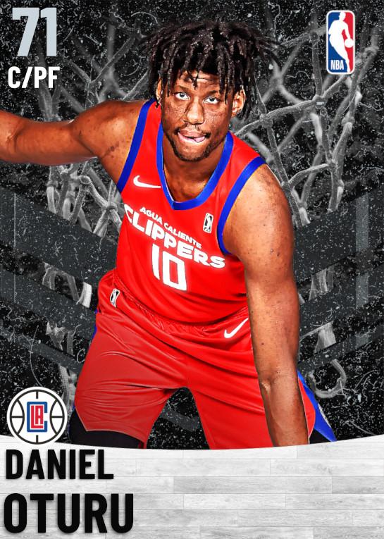 71 Daniel Oturu   Los Angeles Clippers