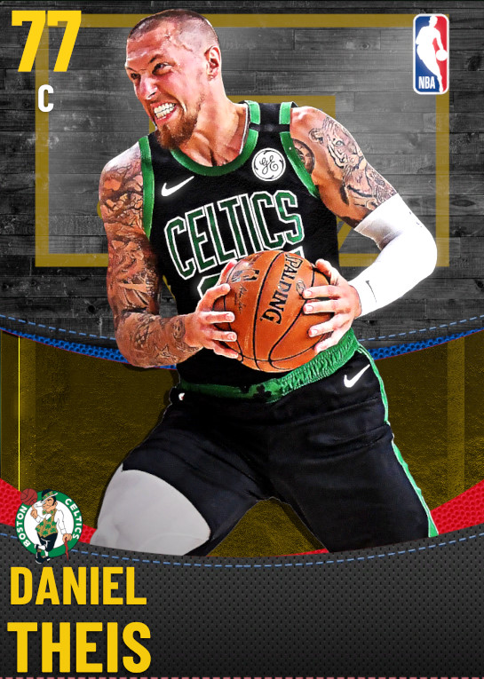 77 Daniel Theis | Boston Celtics