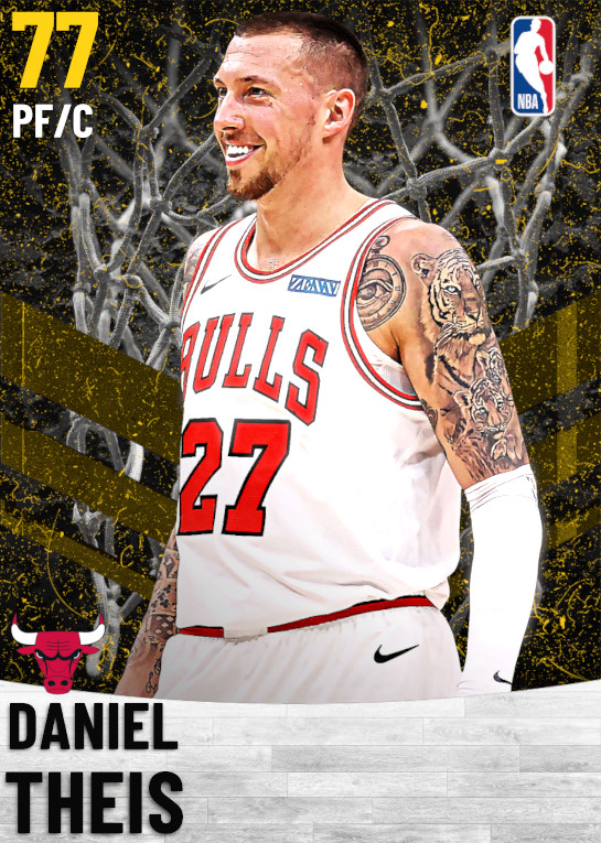 77 Daniel Theis   Chicago Bulls