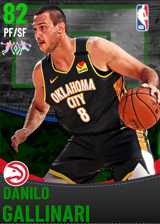 82 Danilo Gallinari | Atlanta Hawks